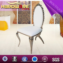 stainless steel wedding chair table rental