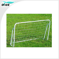 Training and match soccer ball equipments steel football goals