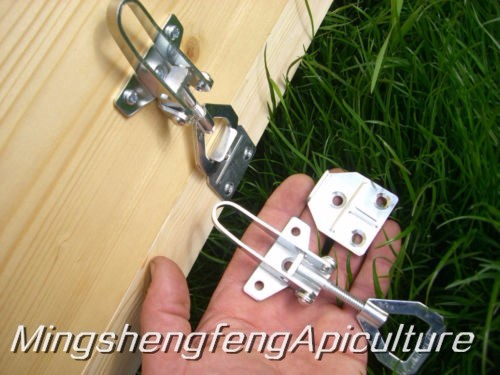 2 or 1 pair Beekeeping adjustable hive fasteners Bees tools Beehive equipment