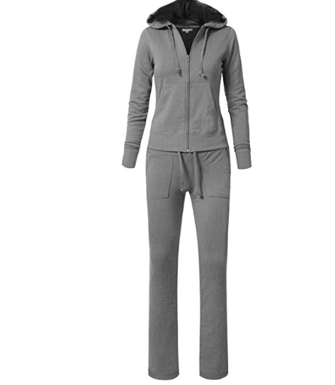 STK05 custom slim fit Tracksuit Zip-Up Hooded Jacket and Matching Pants