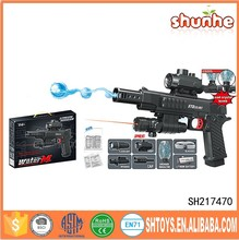 Electric plastic water bullets gun toy gel water ball gun