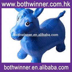 inflatable jumping horse ,RU024 animal toys