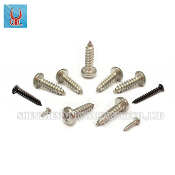 Hot sales stainless steel phillips round head self-tapping screws GB845 PA M5.5 FASTENER