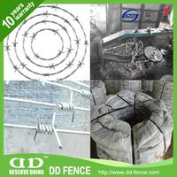 clear view fencing gauteng cochrane razor wire coiled barbed wire