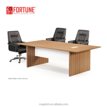 Toronto Modern Rectangle 10 Person Office Conference Table With Electric Outlet(FOH-CT-F2412)