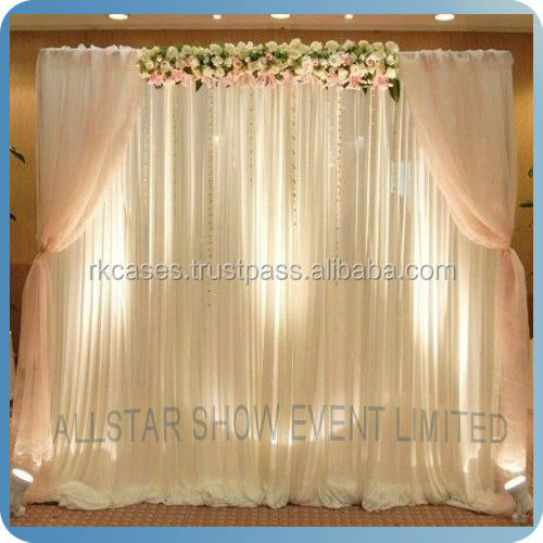 Rk factory supplies wall drapes for party