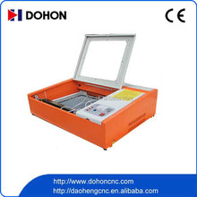 wood pen laser engraving machine 400 50W co2 laser engraver