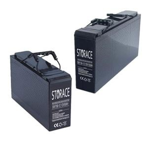Front terminal lead acid battery, 12v 50ah maintenance free front terminal type ,solar and ups battery