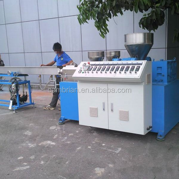 Really bottom price plastic pipe drinking straw making machine with high quality