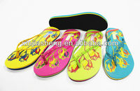 latest girl footwear design wholesale fancy ladies footwear beach flip flops
