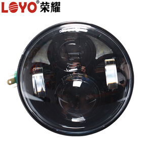 Newest 40w 5.75'' led motorcycle headlights 5.75 inch round led headlamp for harley