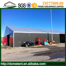 SGS Certificate 6061 - T6 Aluminum Alloy 20x100m huge Warehouse Tent for Industrial Storage