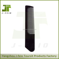 professional plastic binding hotel comb,hair brush and comb set