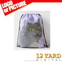 Animal Printed Casual Tote Nylon Drawstring Bag Daily Shopping Bags