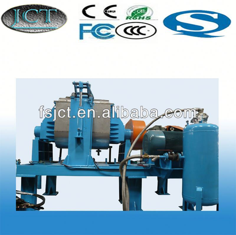 high quality and multi functional kneader making machine used for round rubber mat for flooring NHZ-500L
