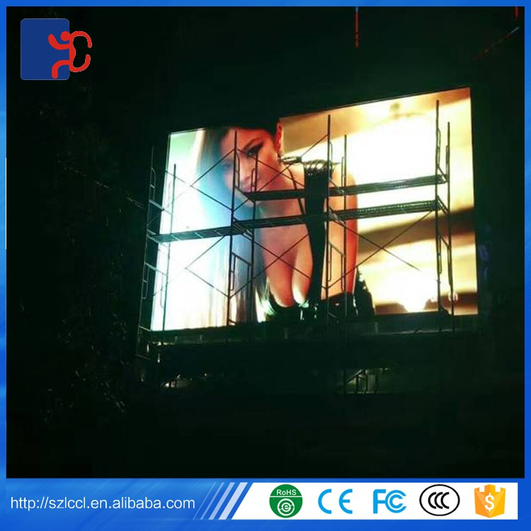 High performance SMD P3.91 P4 P4.81 P5 P6 P8 P10 advertising outdoor led display screen