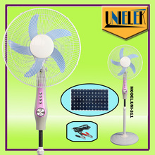 12 volt DC battery operated lahore fan in pakistan with solar panel air cooling fan