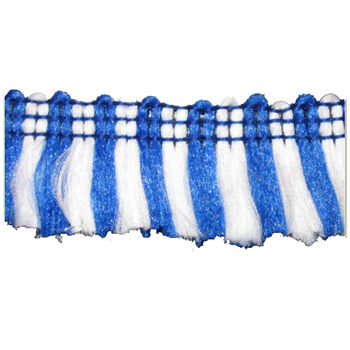 NO MOQ wholesale fabric curtain accessories fine quality multi color handmade chain tassel fringe