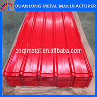 Prepainted Galvanized Corrugated Metal Roofing Steel