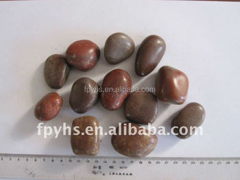 completely beauty brown polishing paving pebbles