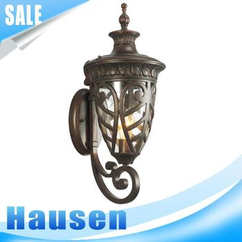 Most popular european waterproof 220 volts outdoor wall lights