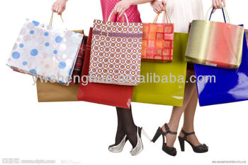 China supplier new design paper shopping bag/shopping paper bag/paper bag
