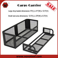 Best Quality Competitive Price Precision Welding Steel ATV Cargo Hauler with Basket 500Lb. Capacity