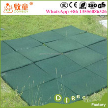China Cheap Safety Outdoor Rubber Flooring for Playground rubber mat