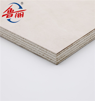 White color 1220x2440x18mm HPL Laminated Plywood