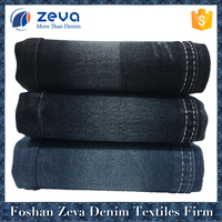 Shrink-resistant stock denim fabric for jeans made in foshan