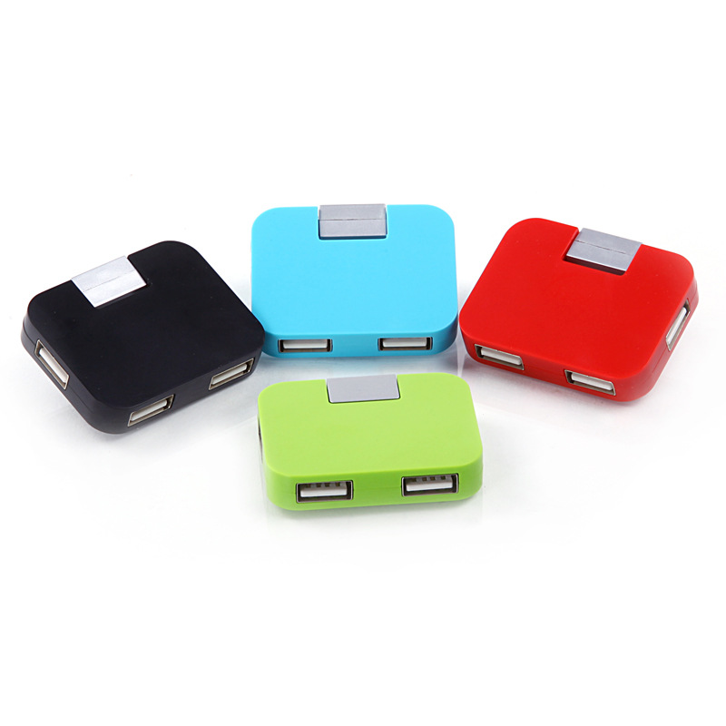 CE Approved USB 2.0 Interface Type 4 Port USB Hub for gifts
