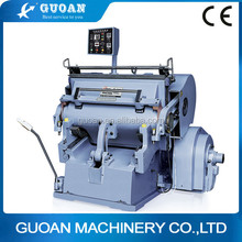 ML-1040 Wenzhou manual flatbed tag die-cutting machine