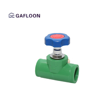 Medium Pressure Pp Fitting Small Plastic Mini Water Float Ball Valve