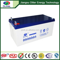 2014 Hot Sale Oliter High Capacity energy storage panel solar battery