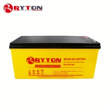RYTON POWER 12v 200ah dry cell long life batterys for wholesales solar system 5kw