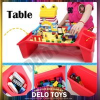 Plastic building bricks table ABS material base plate for blocks toys DE00059