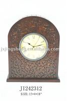 2011 New item# 100% solid antique wood clock frame