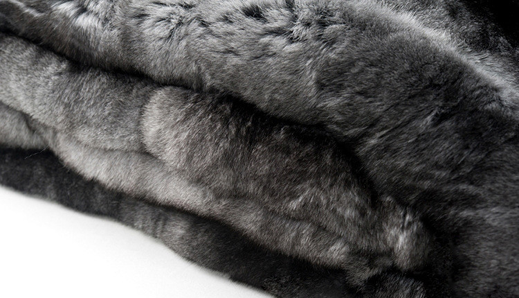 High Quality Real Chinchilla Blanket Real Fur Homeware Customise Throw
