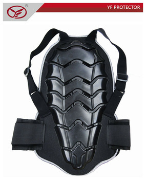 Skiing Back Protector Waist Support Professional Roller Ski Back Protection Armor Double Protection