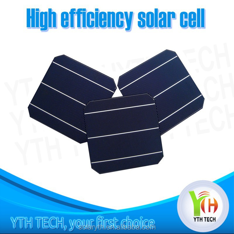 High Efficiency 156mmx156mm 2BB/3BB Gaas Solar Cell With Low Price monocrystalline silicon photovoltaic solar panel