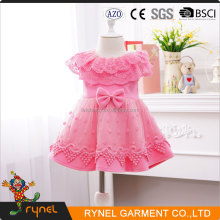 PGCC3895 Pink Princess Dress Party Dress For 2-12 Years Old Girls Fashion Girl Birthday Dress