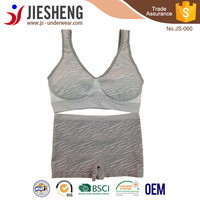 New design yoga pants wear girl bra tube top