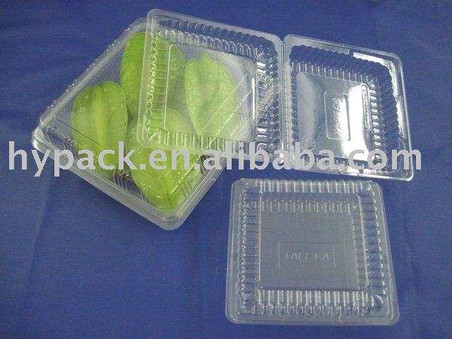 clear plastic Cake/dessert/bread packaging Box