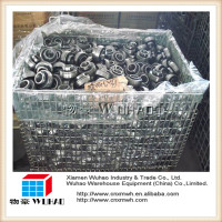 Industrial warehouse metal wire mesh storage stainless steel security cage for sale