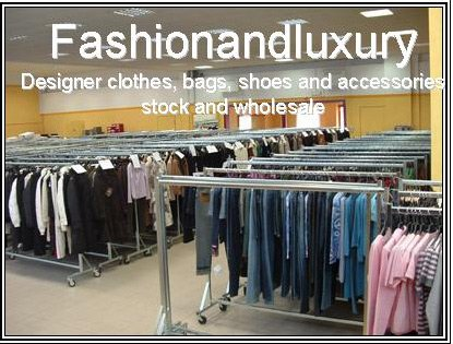 BRANDED CLOTHES - HIGH FASHION MADE IN ITALY DESIGNER CLOTHING LOTS