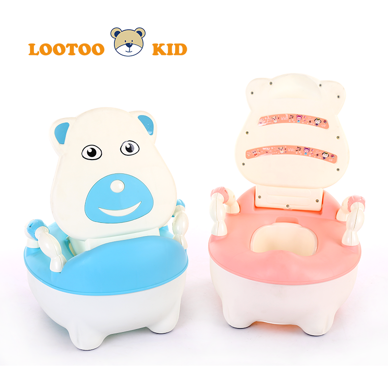 Alibaba trade assurance cheap price plastic cartoon child potty training chair