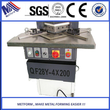 Aluminum stainless steel V notch cutter by V cutting machine