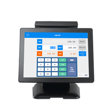 15 inch touch screen pos terminal,all in one touch screen pos, restaurant pos system with sim card
