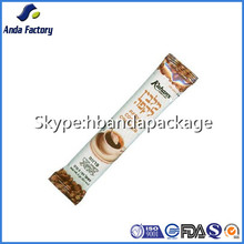 small back sealed coffee packing sachet/instant coffee stick