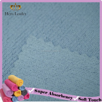 Widely use cheap glass window microfiber terry cloth